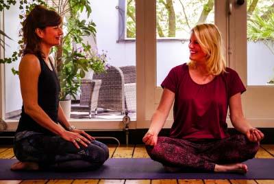 Mindfulness en meditatie privé yogales