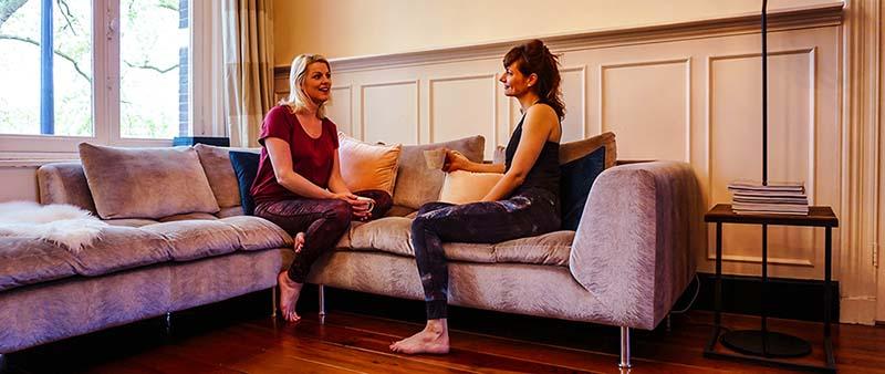 Privé yogales aan huis