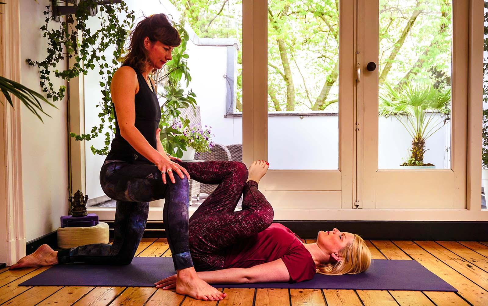 Yoga tegen stressvermindering