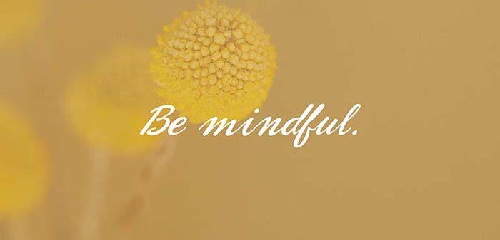 Yoga tegen stress - be mindful